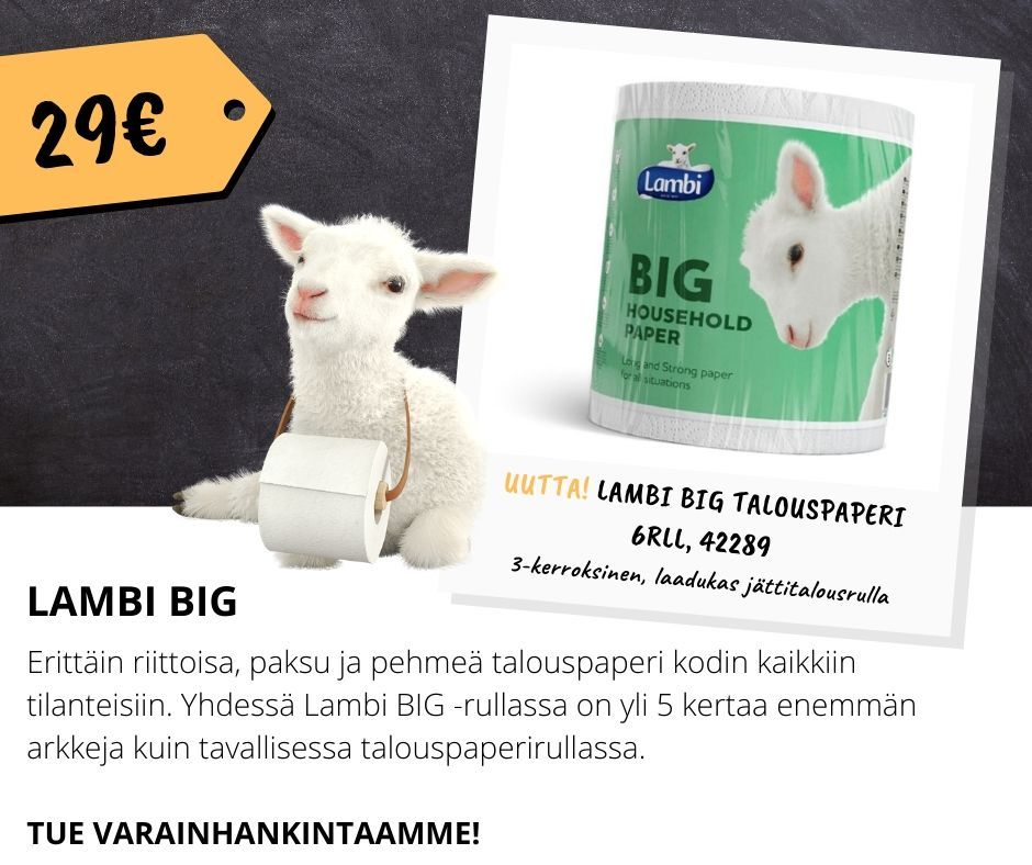 Lambi Big talouspaperi